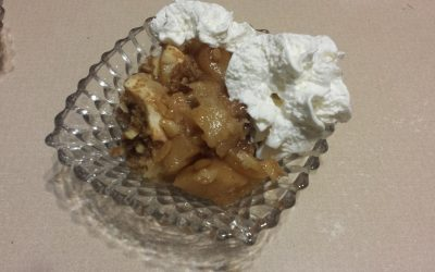80's Dessert Recipe Test – Spicy Apples N' Oats