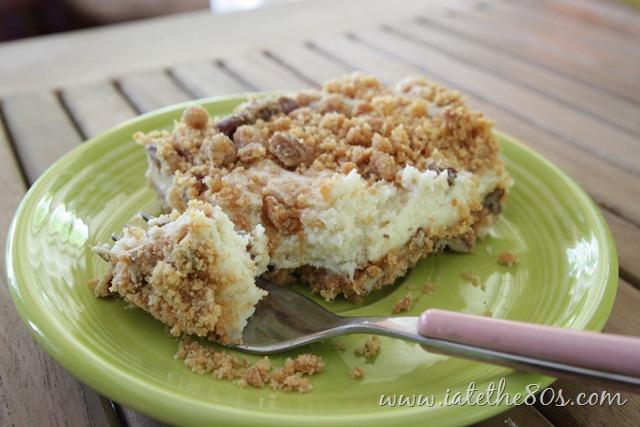 Butterscotch Cheesecake Bars – An 80's Recipe Test