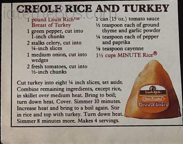 Creole Rice And Turkey